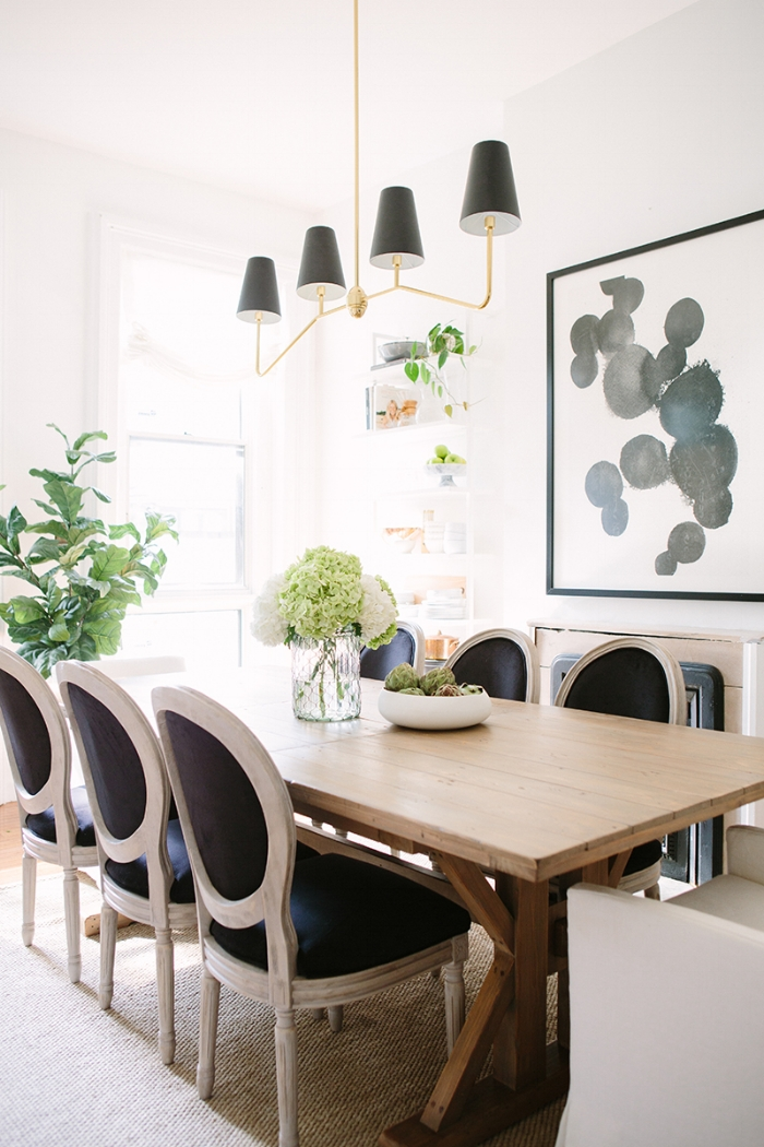 black louis chairs