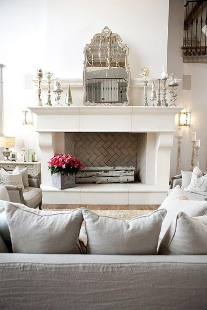 glamorous fireplace