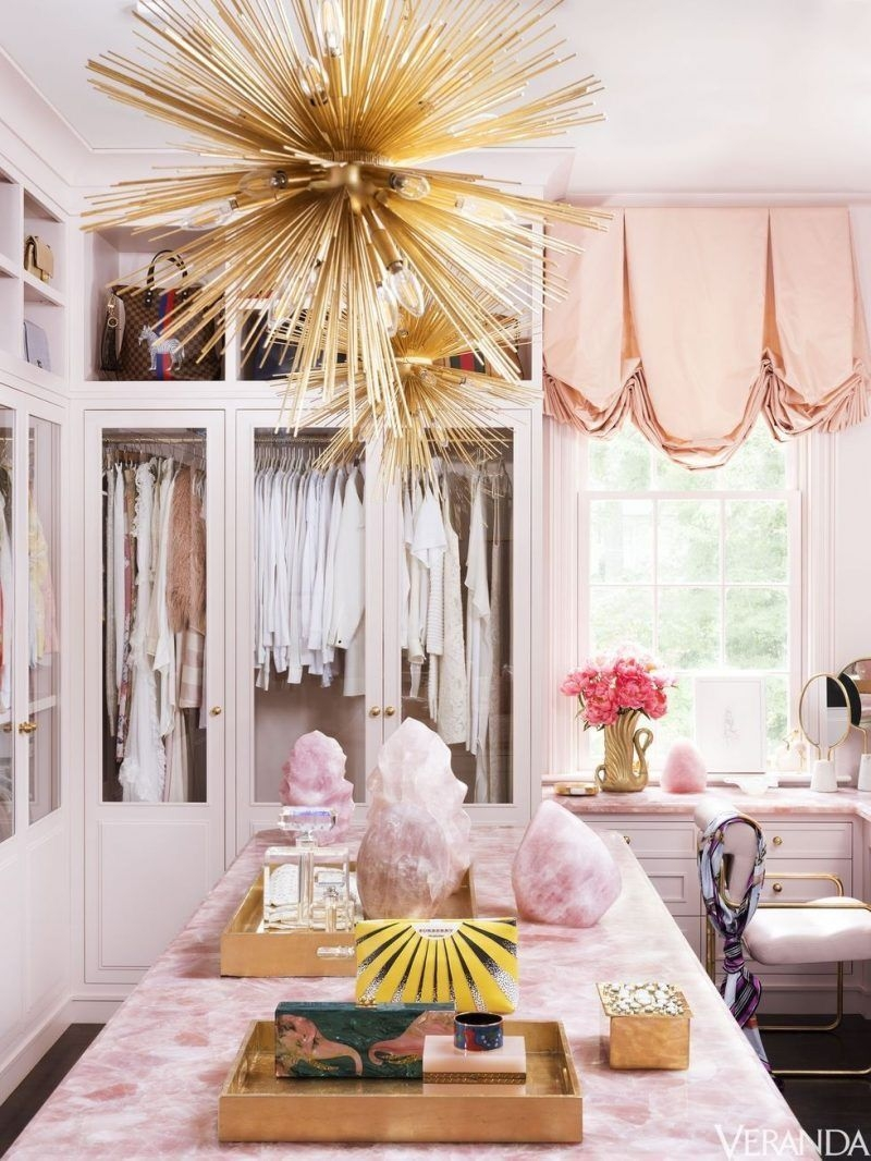 pink rose quartz closet style