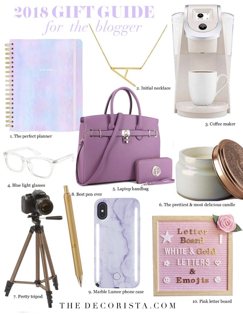 gift guide blogger 2018