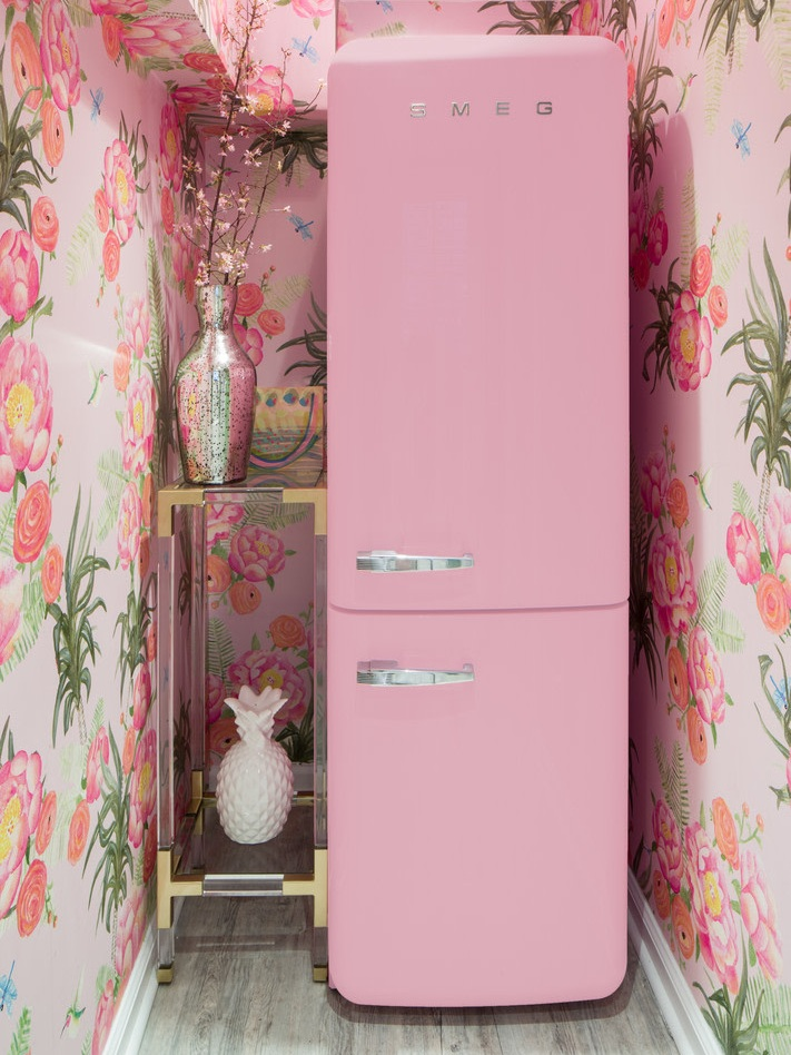 wild wallpaper pink floral