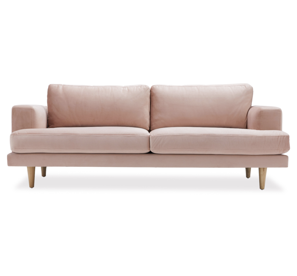 drew barrymore flower pink sofa