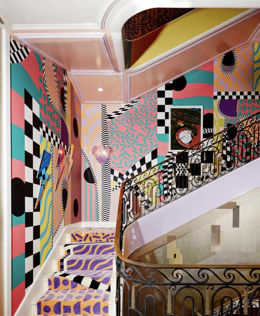 sasha bikoff staircase
