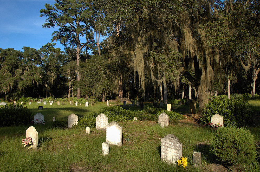 Behavior Cemetery, Sapelo Island, Ga