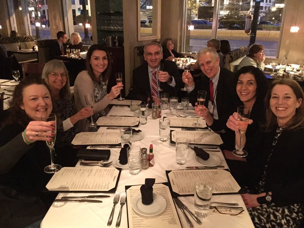 Celebrating RESET HCM trials at ACC Scientific Sessions in Washington DC.