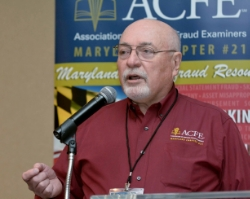 Maryland Chapter President John Grimes, CFE