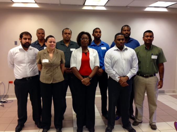 The Trinidad and Tobago Chapter's officers and directors.