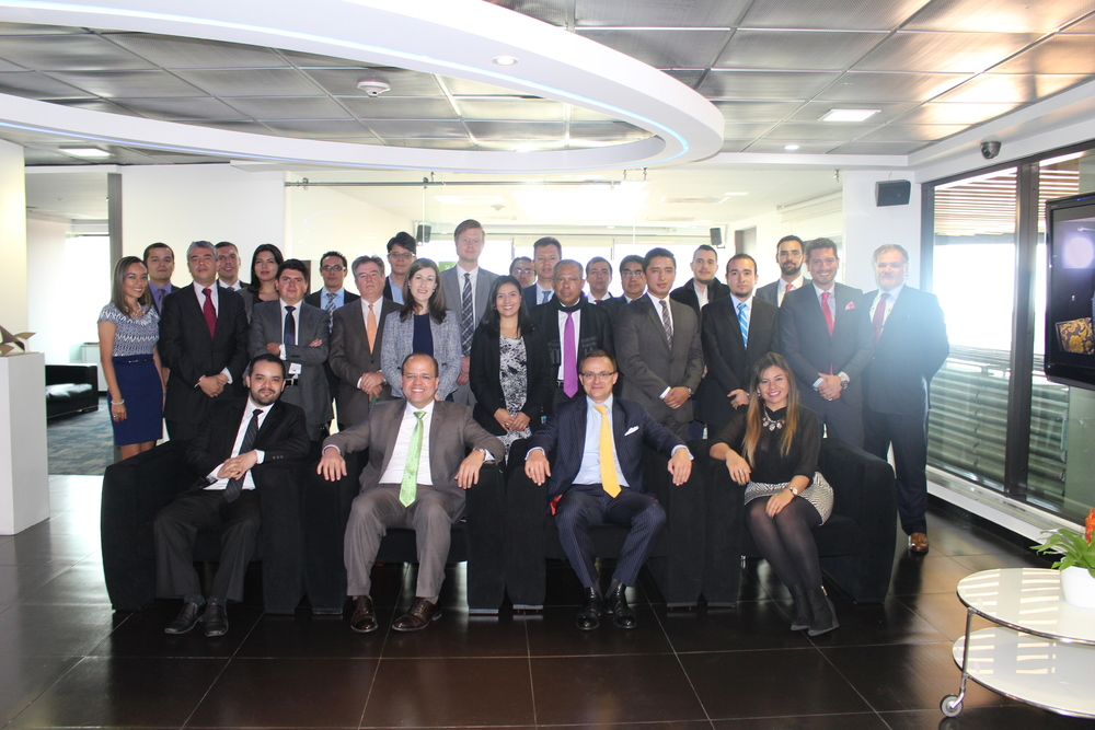 Members of the newly formed Colombia chapter