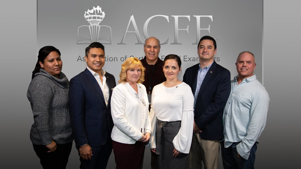 Left to right: Patricia Ballesteros - Inland Empire Chapter member, Jeremy Salvador - Inland Empire Chapter VP Events, Pam Fairbrother- Orange County Treasurer, Guillermo Alvarez- Orange County Chapter Advisory Board Member, Gabriela Coldea - Orange County Chapter President, Andy Horita - San Diego Chapter President, Dave Kyman- San Diego Chapter VP