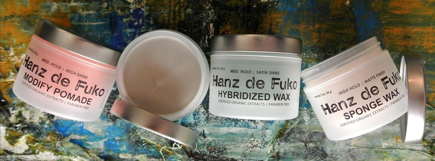 Hanz de Fuko men's hair care and hair styling products contain only the highest quality, most effective certified organic ingredients and natural plant extracts.