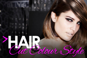 Hair cut colour and style