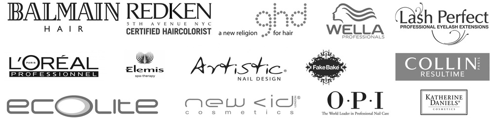 balmain hair redken ghd wella lash perfect loreal elemis artistic nail design fake bake opi collin elemis