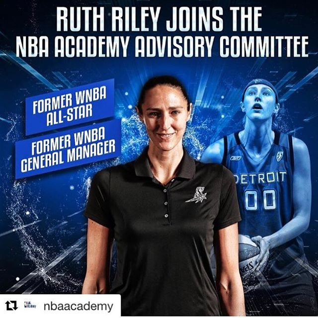 We are excited to announce that @inspiretransformation co-founder, @ruthriley00, will be joining the NBA Academy team and their efforts to globally grow the game of basketball around the world. Way to go Ruth!!! . . #nbaacademy #advisorycommittee #inspiretransformation #cofounder #wbna #olympic #ncaa #champion #congratulations #ruthriley . http://www.inspire-transformation.org/
