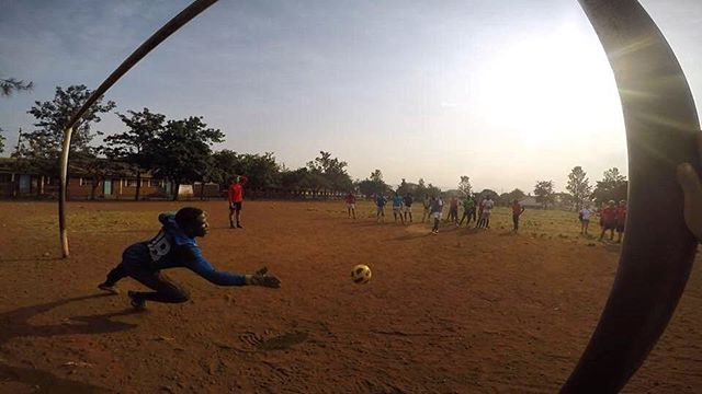 """""""Success is no accident. It is hard work, perseverance, learning, studying, sacrifice, and most of all, love of what you are doing or learning to do."""" -Pelé . . Photo credit: @mynamejeff.13 . #soccerplusoutreach #practice #kisumucity #kenya #goalie #pele #quote #inspiretransformation #501c3 #nonprofit #soccer #basketball #counseling #lifeskills #training #global #empowerment #learnmore #visitourwebsite . http://www.inspire-transformation.org/"""