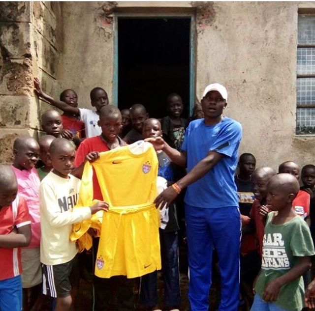 "Coach Davis, Manyatta Slum's self-proclaimed ""Slum Father,"" and a vital asset to our partner program, Soccer Plus Outreach, showing off newly  donated soccer uniforms for the children we work with in Kisumu City, Kenya. We would like to thank all of our supporters who make donations like this possible!! To learn more about ways you can also help, please go to: http://www.inspire-transformation.org/sponsor-it/ . . @oumadavis @mynamejeff.13 @soccerplus_outreach . . #soccer #uniforms #makingkidsfeelspecial #thingsthatcount #kisumucity #kenya #manyatta #slumfather #inspiretransformation #501c3 #nonprofit #sports #counseling #lifeskills #education #empowering #communities #creating #sustainable #change #help #today"