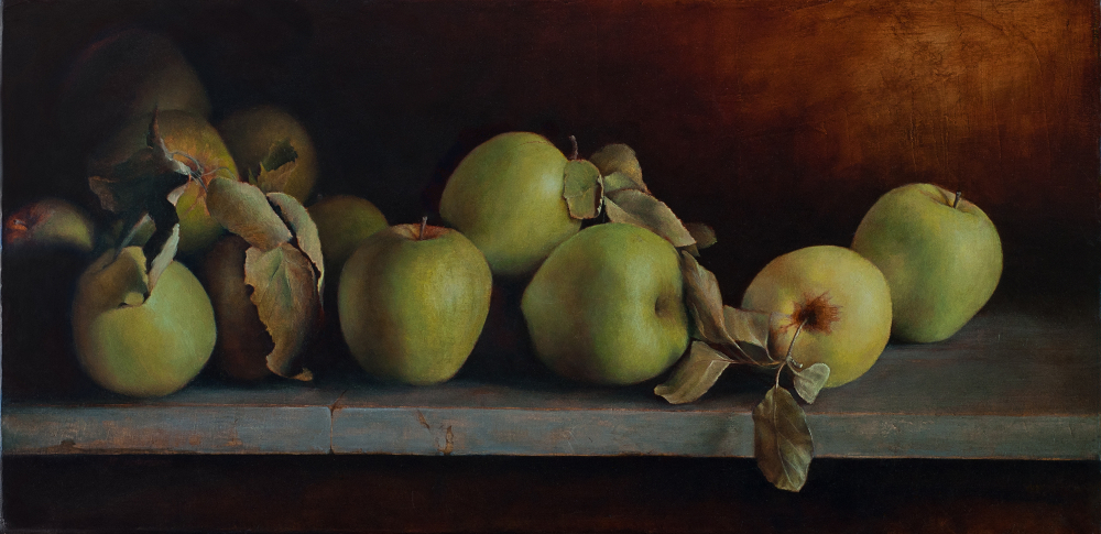 A Peck of Green Apples