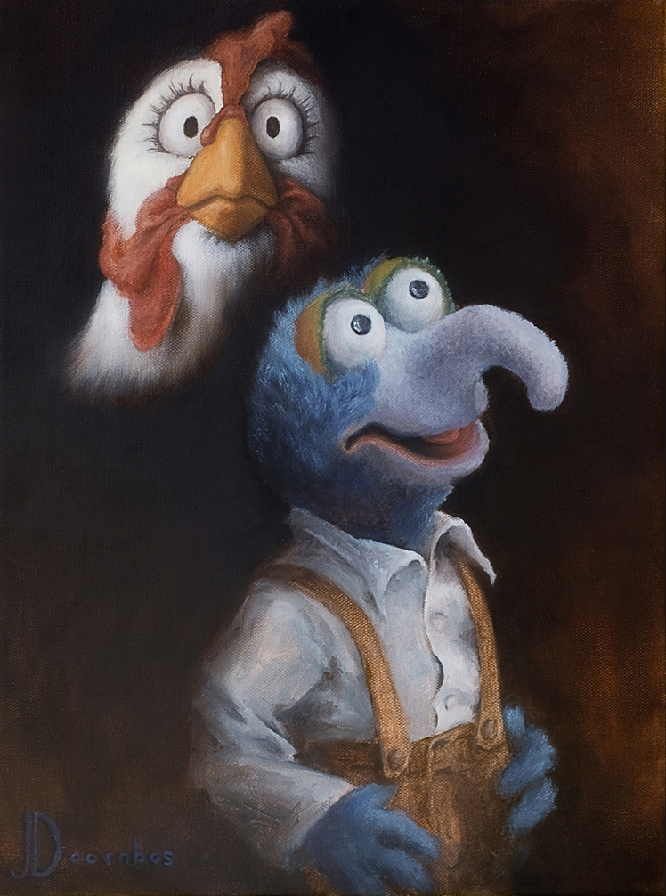 Camilla and Gonzo's Awkward Portrait