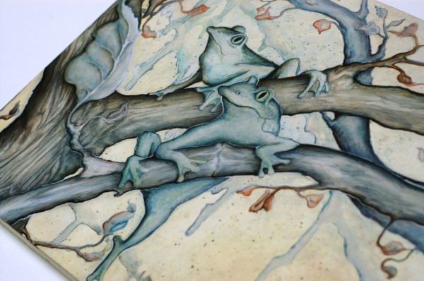 "detail of ""Out on a Limb"" by Julie Doornbos"