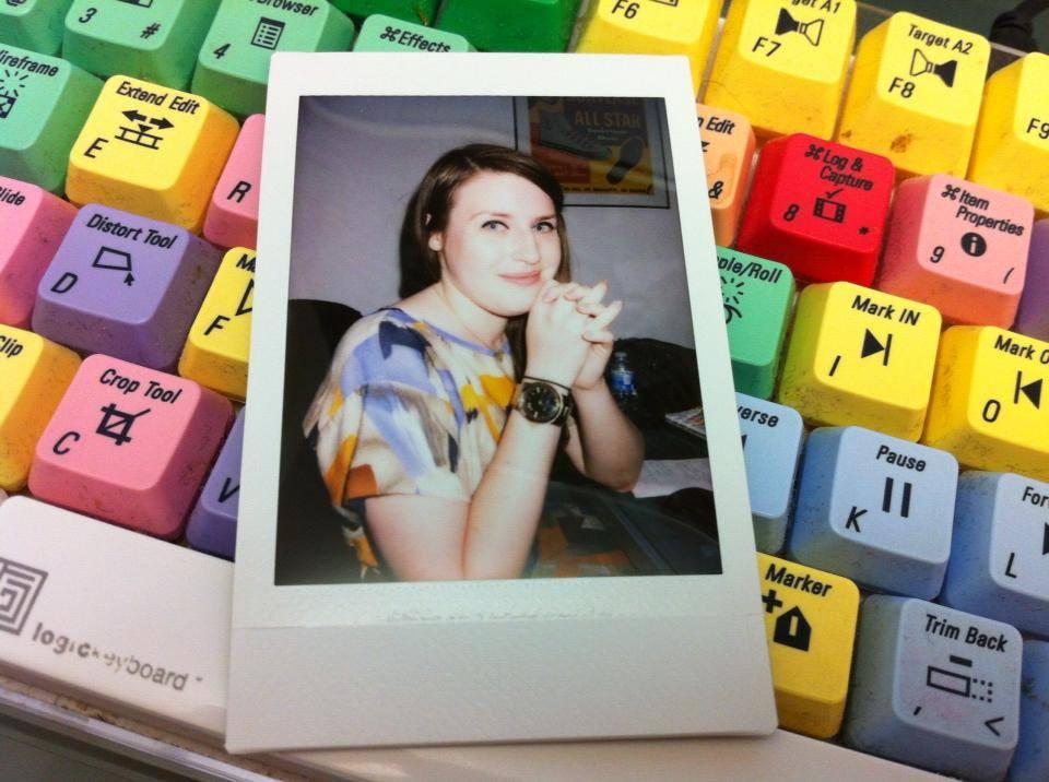 I've spent a lot of time in the edit room. So I took this very meta photo.