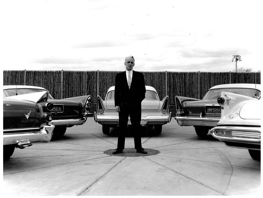 Virgil Exner and his creations 1957