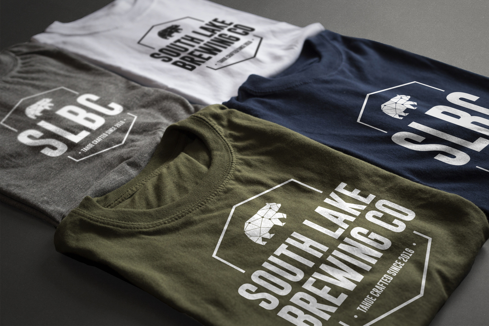 Perspektiiv Design Co. & South Lake Brewing Company Apparel Design