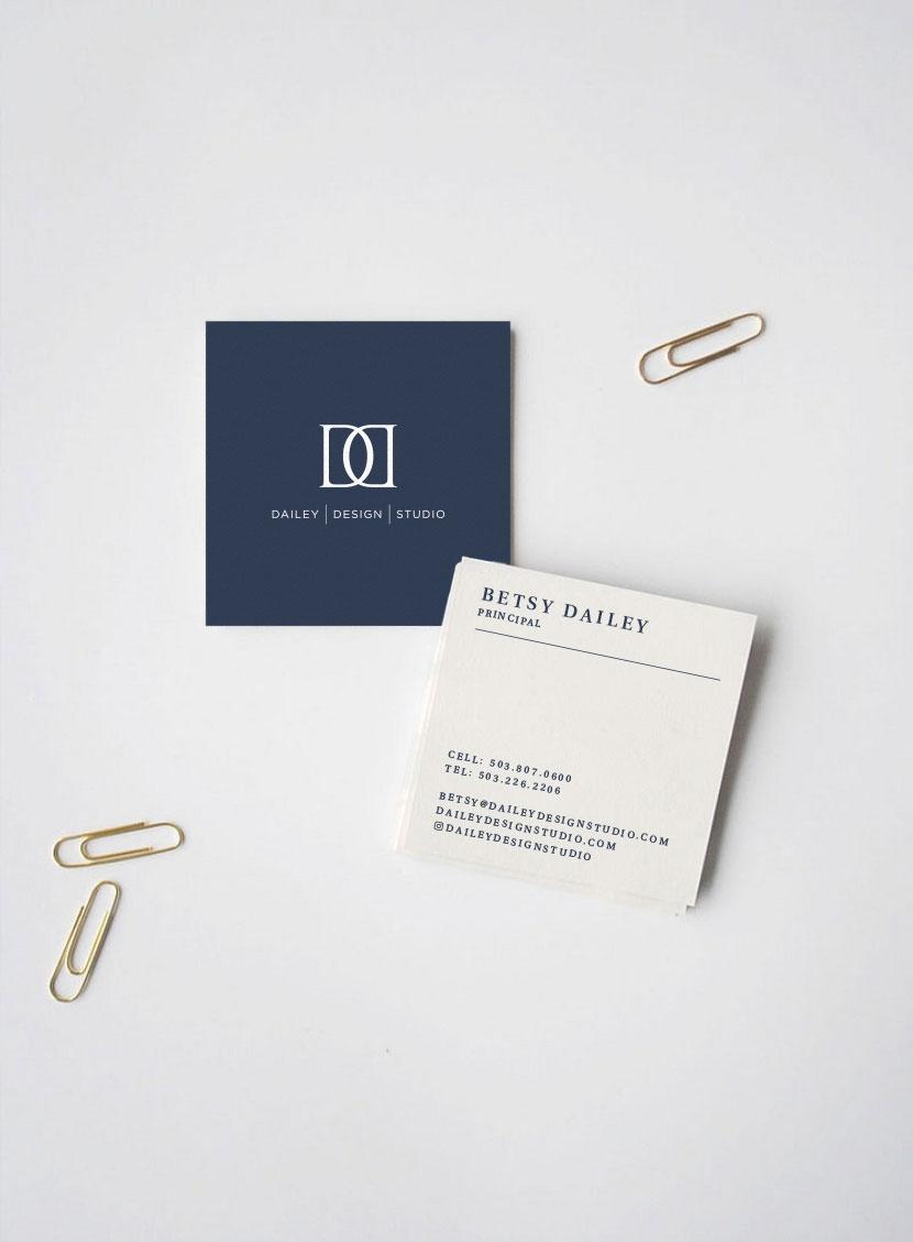 Perspektiiv Design Co. Business Card Design