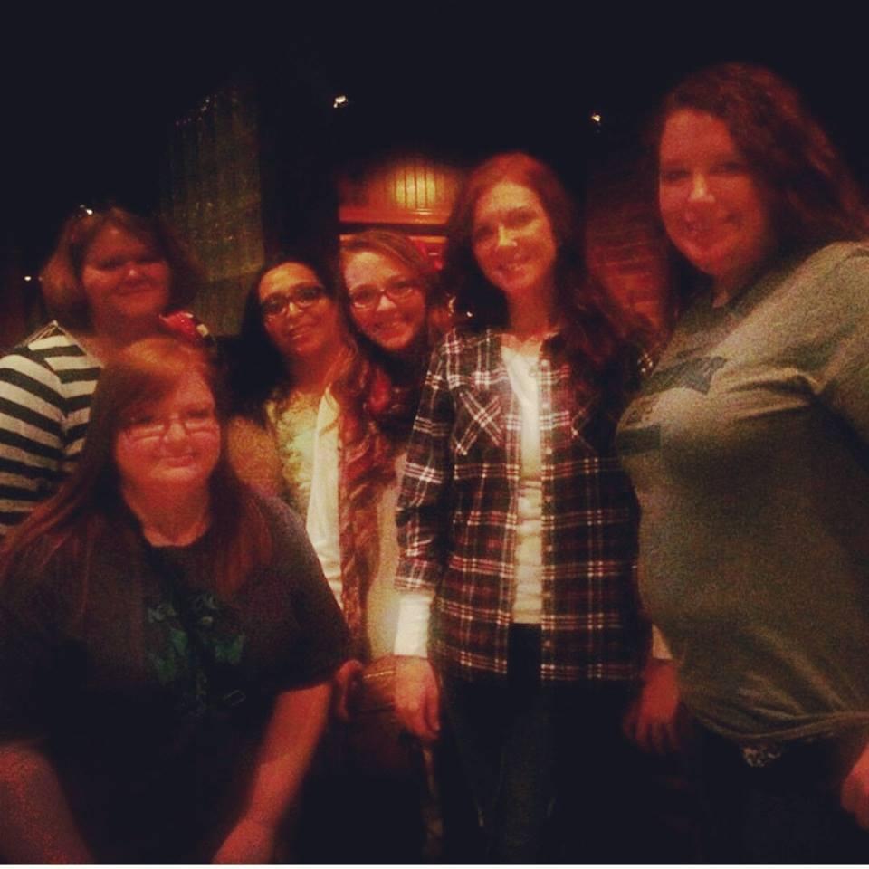 With Marissa Newby-Hatcher, Nicole Moore, Rebecca Gates, Heather Summers, & Nikki Phillips