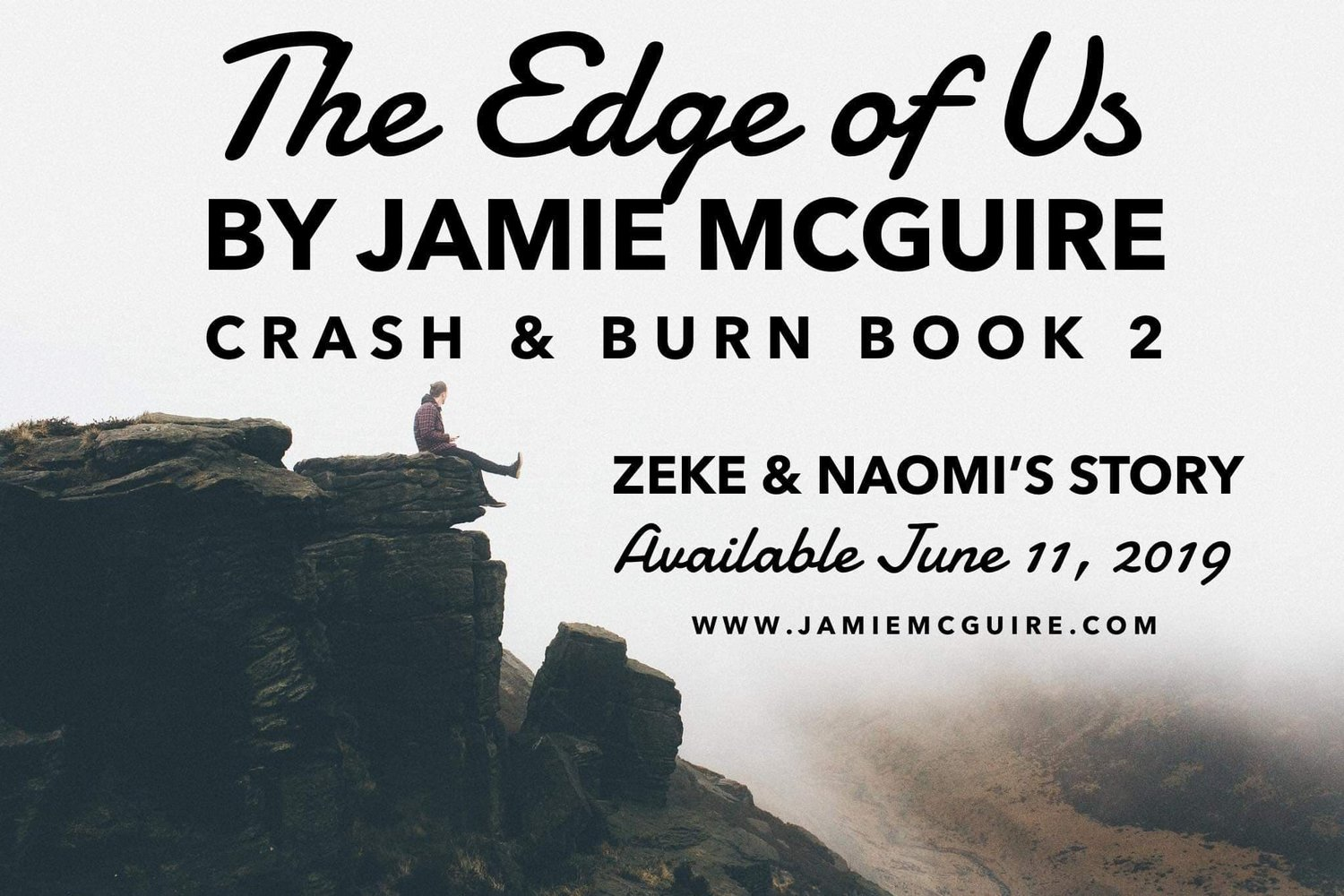 The Edge of Us is Coming SOON — Author Jamie McGuire