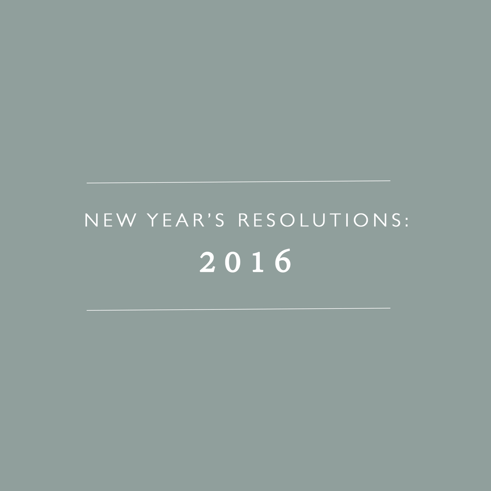 New Year's Resolutions 2016 | Montana Wedding Photography | Stella Kelsie Photography