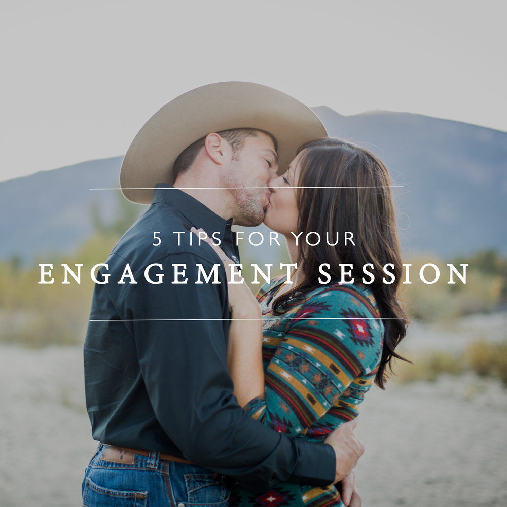 5 Tips for Engagement Session Photos