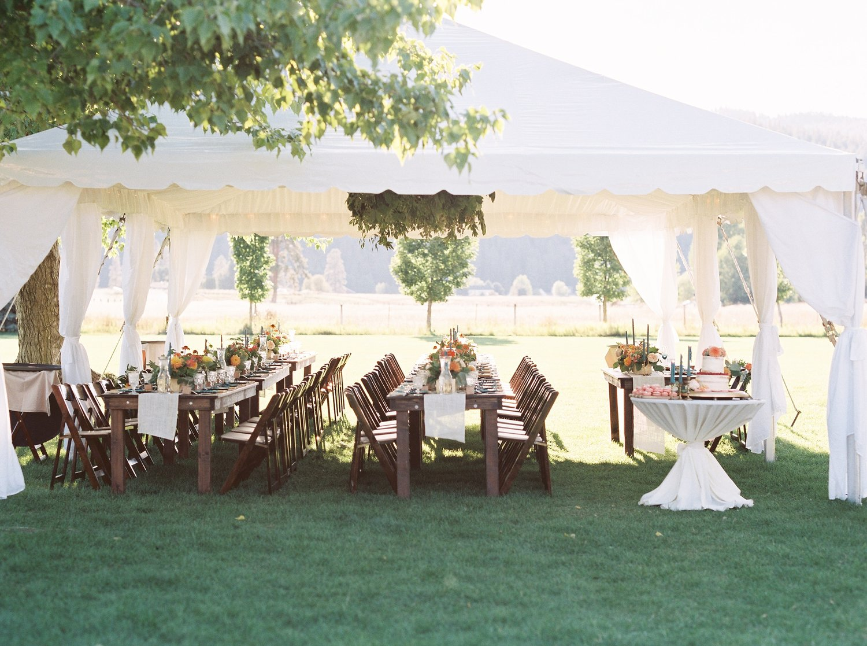 jenn robert intimate backyard wedding montana wedding