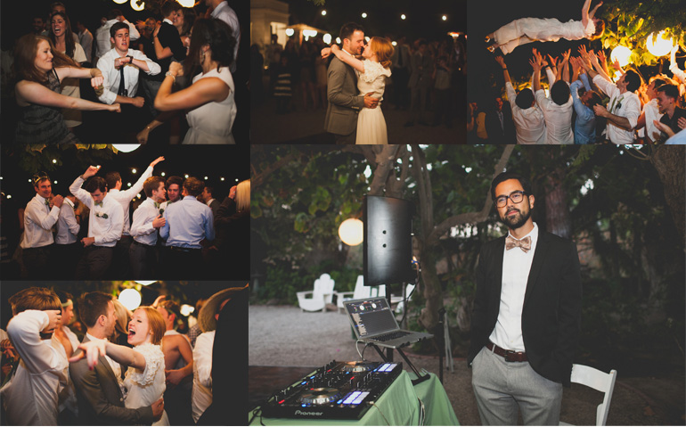 Our favorite DJ in the world: J.P. McLeod  Offers a $300 discount to Floataway Couples!   www.iamdjp.com   Featured above: Kate and Nick's Camarillo Wedding