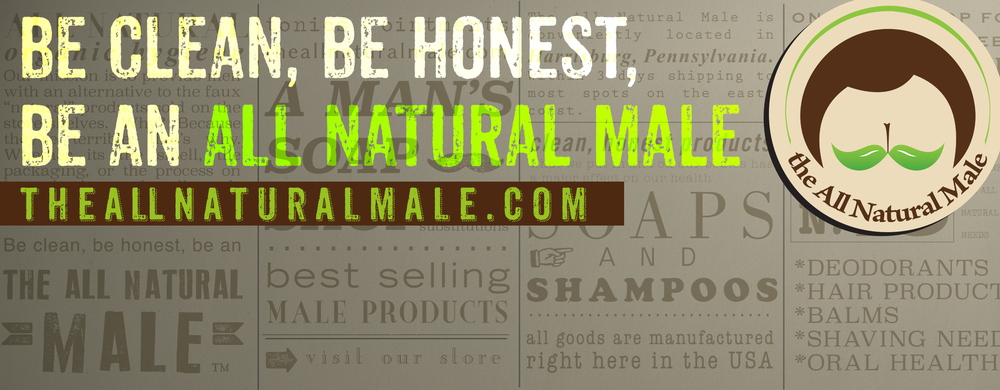 The All Natural Male Header