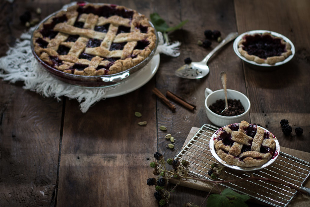 Cardamom-Blackberry Pie recipe // Milly's Kitchen
