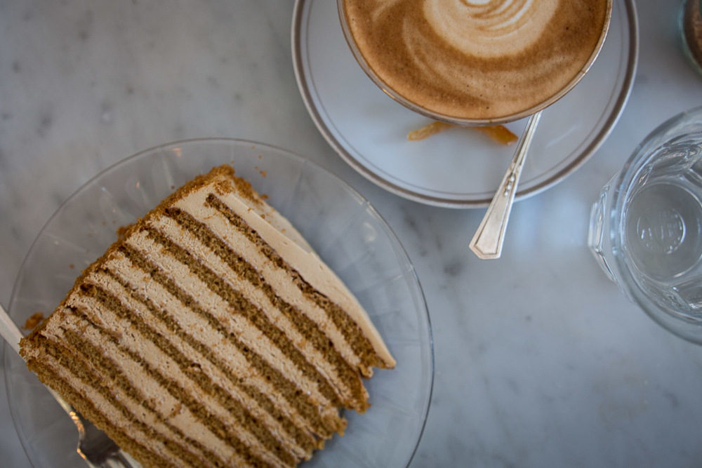 20th Century Cafe Russian Honey Cake // Milly's Kitchen
