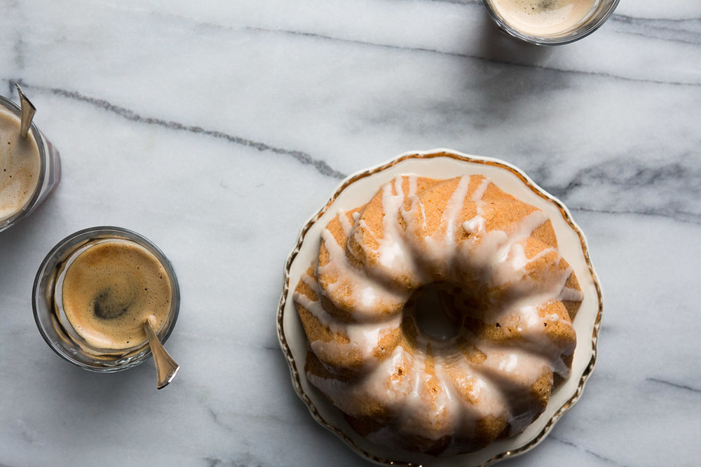 orange hazelnut bundt cake with rum glaze // millys-kitchen.com