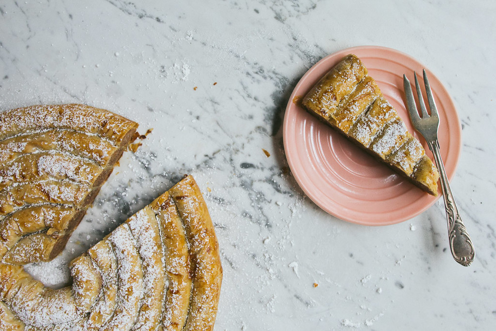 moroccan almond and orange blossom pastry on millys-kitchen.com