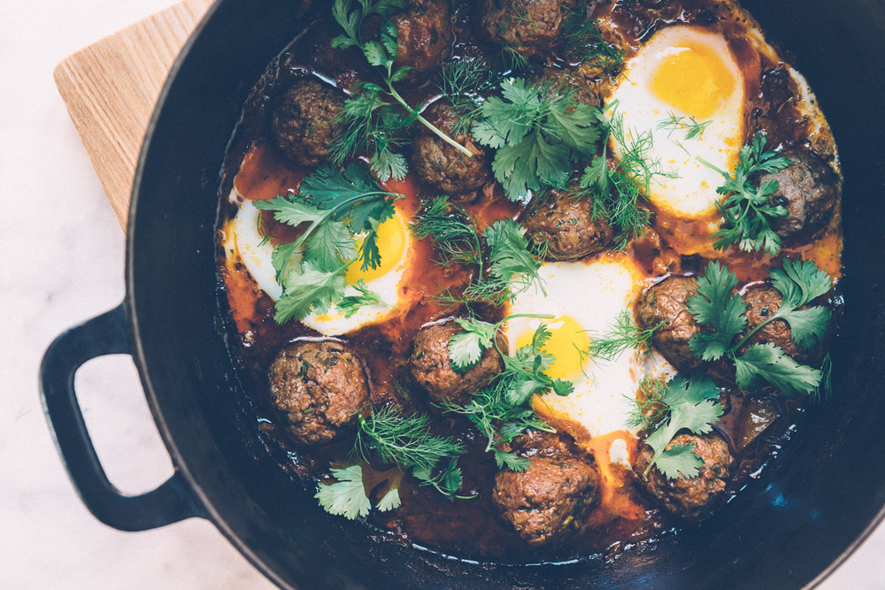 kefta shakshuka on millys-kitchen.com