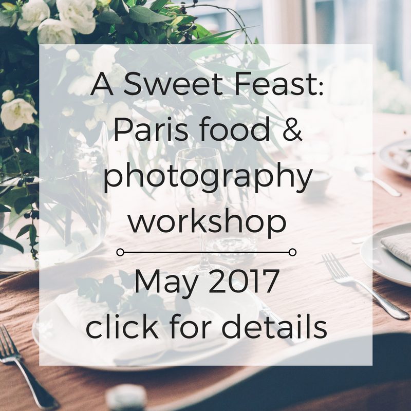 a sweet feast paris food and photography workshop