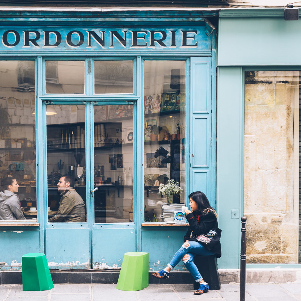 Paris food, photography and coffee workshop