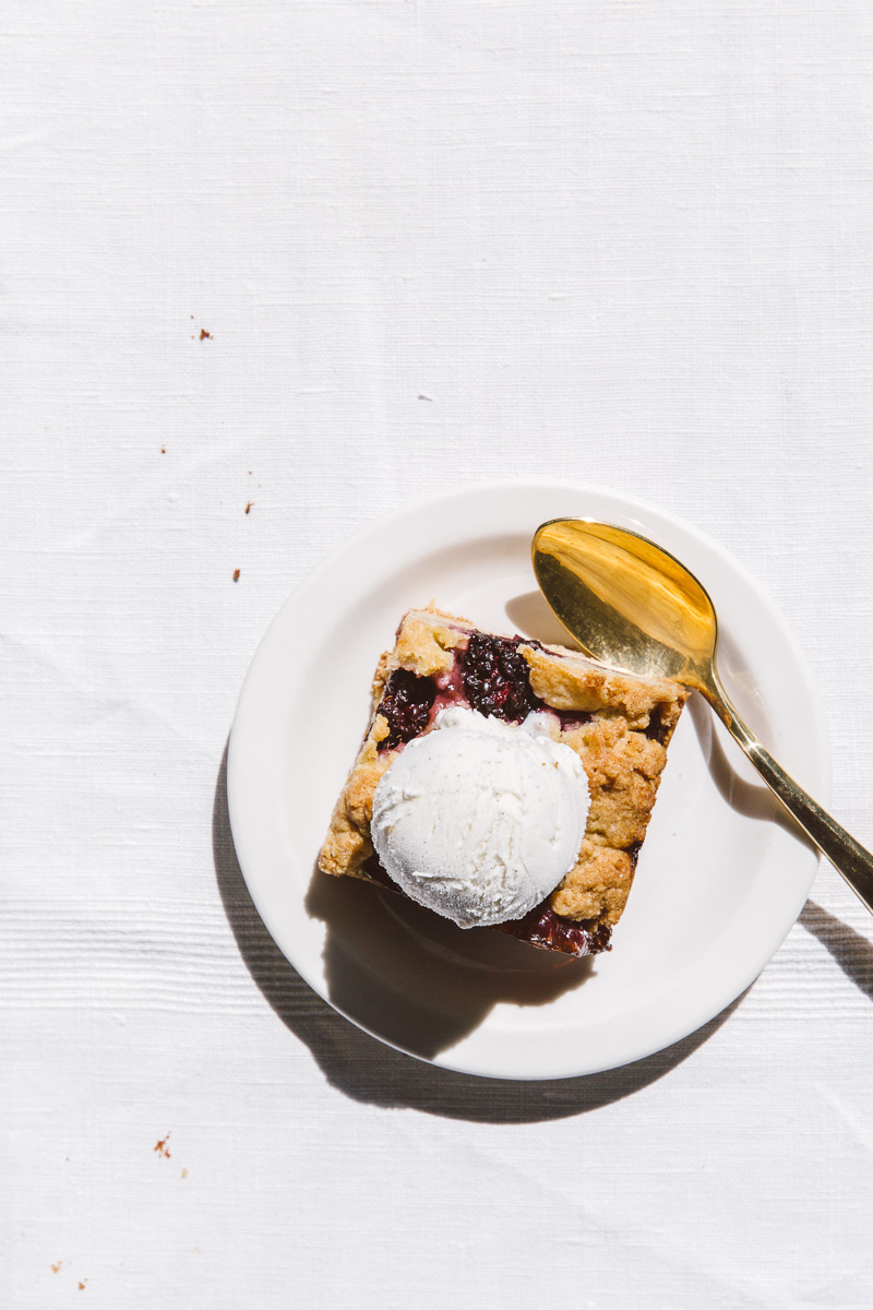 almond oat berry bars. Image/styling: Olaiya Land