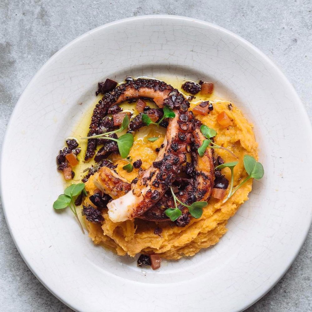 Grilled-octopus-on-a-plate