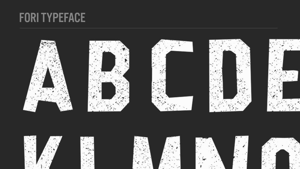 Fori typeface