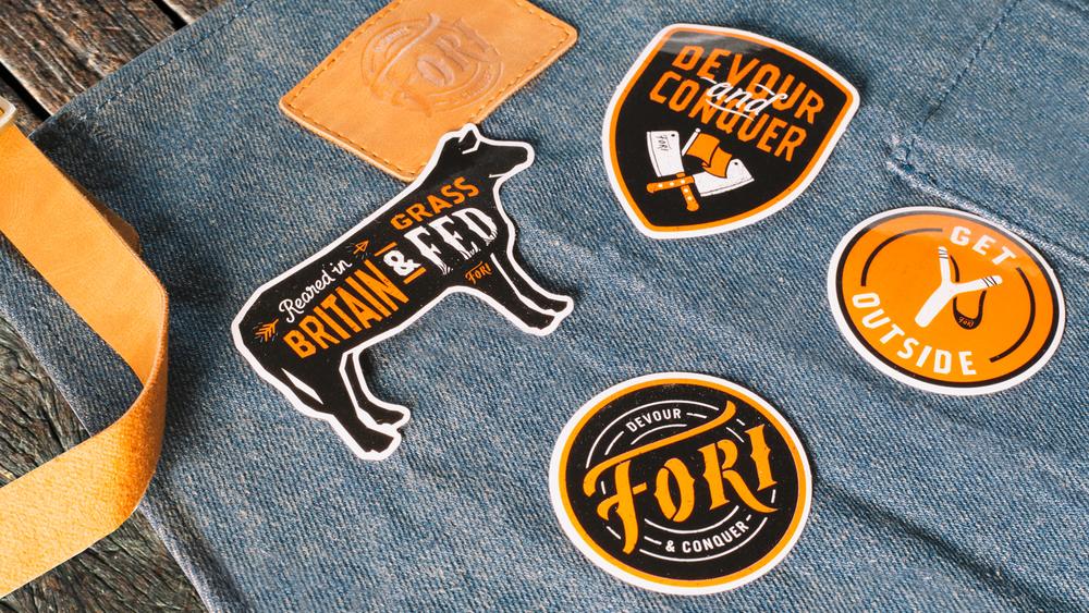 Fori Stickers