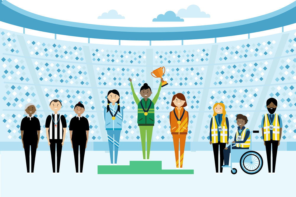 Sports Ceremony illustration