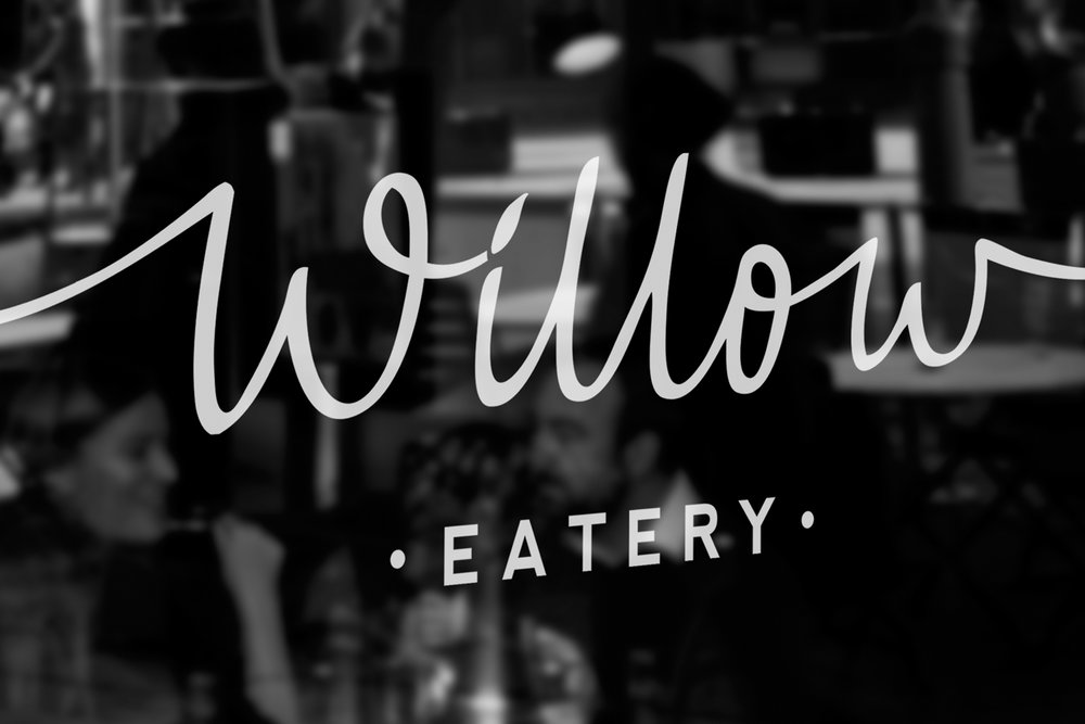 willow eatery - graphic design