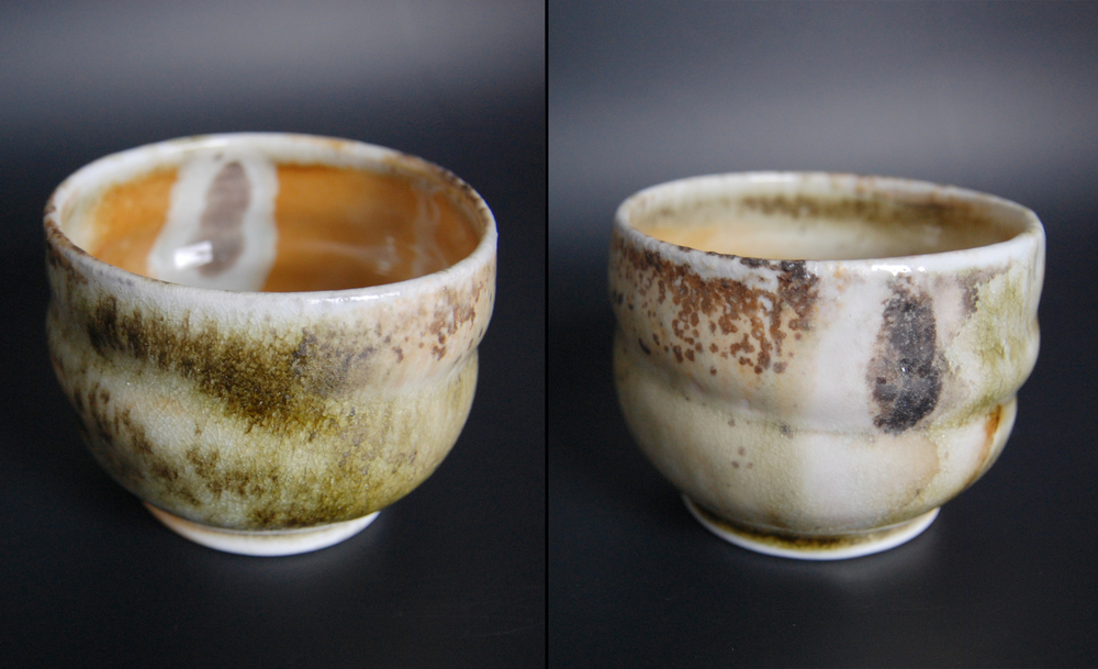 Dragon Tear Wood Fired Tea Bowl