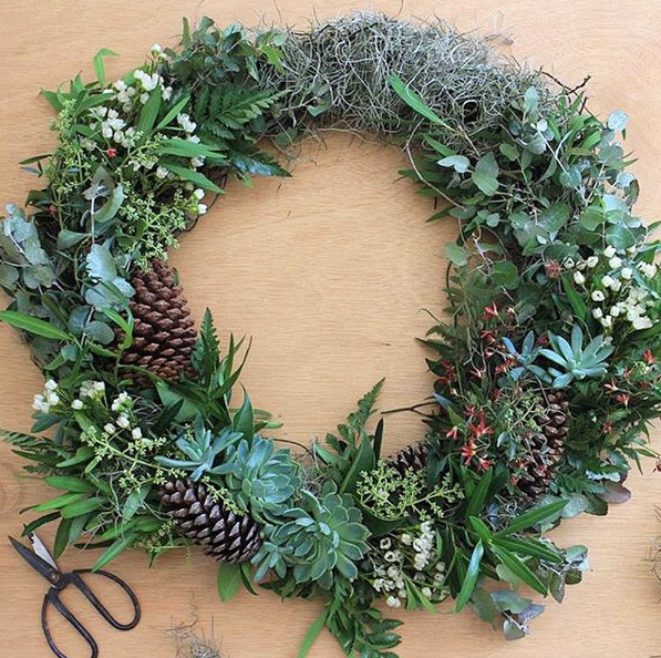 Christmas Wreath Workshop Sunday 6th December