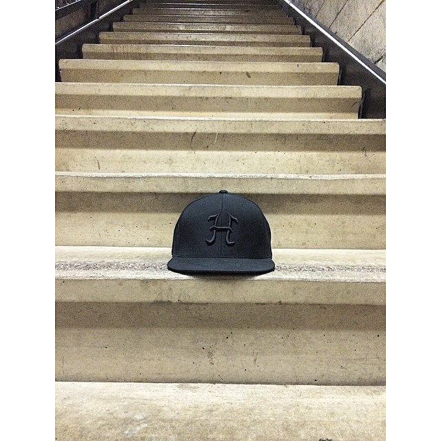 New hats dropping soon. #winteriscoming #getstoked #hipsnowboarding #blackout