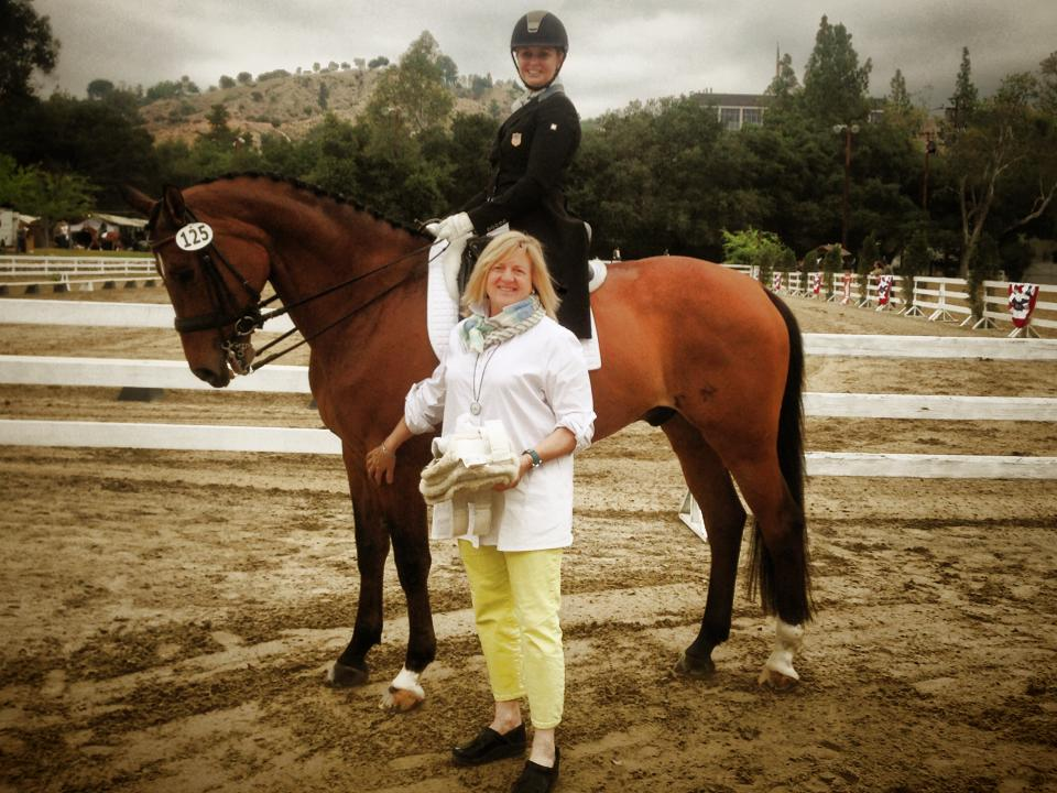 Wendiego and his owner Barbara Wachsman